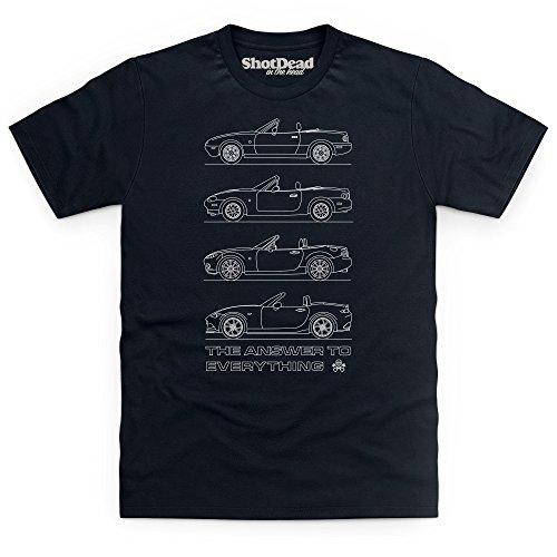 the-answer-to-everything-t-shirt-herren-schwarz-2xl