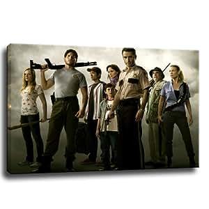 Walking Dead - Image sur toile - 100 x 70 cm