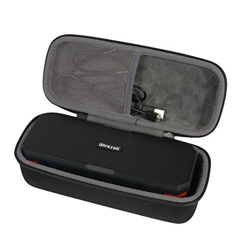Hart Reise Schutz Hülle Etui Tasche für Wirezoll Bluetooth Lautsprecher Wasserdicht 20W Wirelss Tragbar Speaker Kabellos Musikbox Box von co2CREA