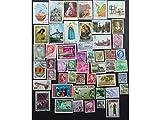 Paket mit 50verschiedenen Briefmarken aus 50verschiedenen Ländern, jetzt mit kostenlosem Guyana $20GWR-Mini-Bogen,toller Einstieg für eine Sammlung
