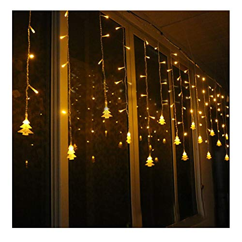 K-Bright 3.5M/138in 96LED Christmas Lights Indoor & Outdoor String Lights 8 Functions Fairy Lights Garden Home Xmas Decoration Ideal for Christmas Tree, Festive, Wedding/Birthday Party Decorations LED String Lights,EU Plug