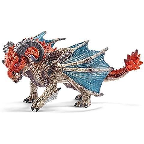 Schleich 2570511 Drago con Ariete Figurina - Mano Drago