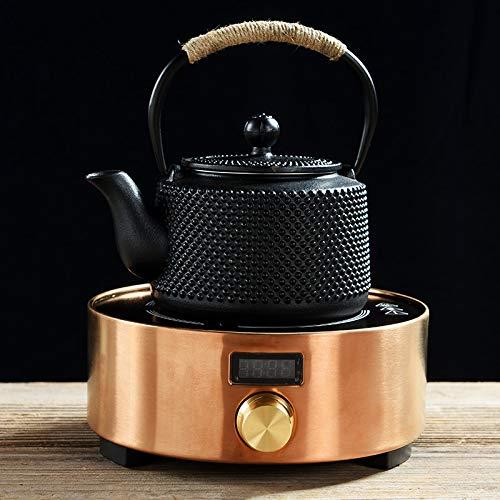 GBCJ Haushaltseisentopf, Gusseisentee, der Wasserkocher, Teekessel, elektrischen Teeherd, Teekanne, Nachahmung japanische handgemachte südliche Teezeremonie Macht.