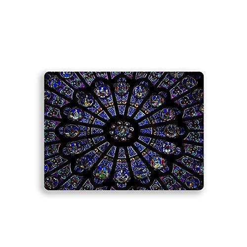 Sen-Sen Mousepad Paris-Druck Notre-Dame Galaxy rutschfeste Mousepad Gaming Mouse Pad - Multicolor -