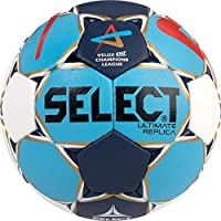 Select Ultimate Replica–Pelota de Balonmano, Todo el año, Color We/Bl/Ro, tamaño 3