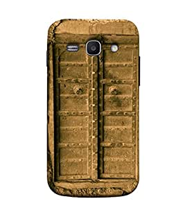 Fuson Designer Back Case Cover for Samsung Galaxy Ace 3 :: Samsung Galaxy Ace 3 S7272 Duos :: Samsung Galaxy Ace 3 3G S7270 :: Samsung Galaxy Ace 3 Lte S7275 (Closed Door Fort Home)
