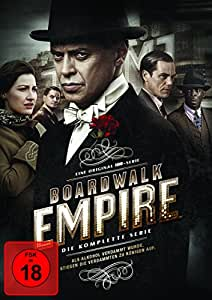 Boardwalk Empire Komplettbox (exklusiv bei Amazon.de) (inkl. Bonusdisc) [Limited Edition] [21 DVDs]