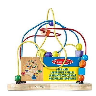 Melissa & Doug 12281 Classic Bead Maze - Wooden Educational Toy