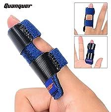 Von Quanquer. --- -- Geeignet für: Hammerfinger, Abzugsfinger. Gebrochener, gerissener, verstauchter Finger oder Fingerglied. Verstauchte Finger-Knöchel oder -Gelenke und Bänderrisse. Verletzungsprävention und Unterstützung der Heilung nach Operation...