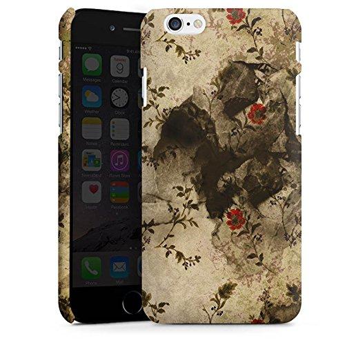 Apple iPhone X Silikon Hülle Case Schutzhülle Vintage Muster Blumen Premium Case matt