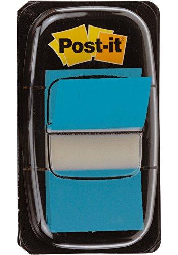 post-it-index-medium-plastic-dispenser-bright-blue-pack-of-50