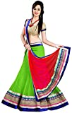 Anu Clothing Women Net Lehenga (AASR009_...