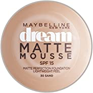 Maybelline New York Dream Matte Mousse Foundation Sand 30