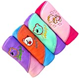 #5: BRANDONN NEWBORN Premium Quality RAINBOW 4PC A/C Baby Blanket Cum Baby Wrapper(Pack Of 4 , Assorted)