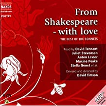 From Shakespeare with Love: The Best of the Sonnets (Great Poets)
