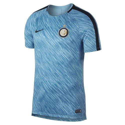 Nike Herren Inter M NK Dry Squad TOP SS GX Mailand Fußballtrikot, Blauer Sturm Schwarz, 2XL