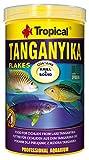 Tropical Tanganyika Flockenfutter Tanganyikaseecichliden, Tanganjika, 1er Pack (1 x 1 l)