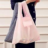 Qewmsg Foldable Oxford Cloth Shopping Bag Environment Eco-Friendly Reusable Bag