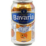 Bavaria Non Alcoholic Malt Drink Peach Can, 330 ML (Pack Of 6)
