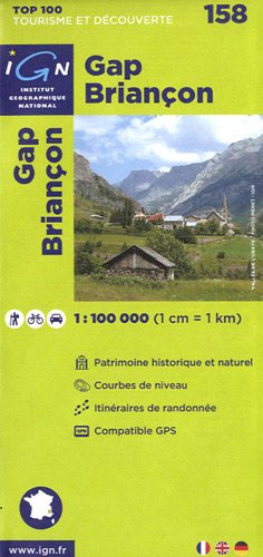 Top100158 Gap/Briancon 1/100.000