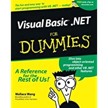 VisualBasic .NET For Dummies by Wallace Wang (2001-11-29)