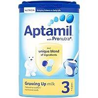 Aptamil Crecer Leche En Polvo Para Bebés 1Yr + (900g) (Paquete de 6)
