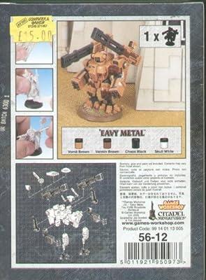games workshop tau xv88 broadside battle suit by games workshop