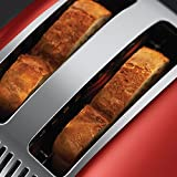 Russell Hobbs Colour Plus 2-Slice Toaster 23330 - Red