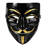 Best Halloween Masks - Beyove Guy Fawkes Mask Anonymous VIP Edition Face Review