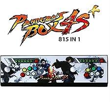 DFS Pandora's Box 4S Arcade Game Console 815 en 1 kit de jeux vidéo TV avec 2 boutons Joystick Pièces d'alimentation Sorties HDMI et VGA et USB