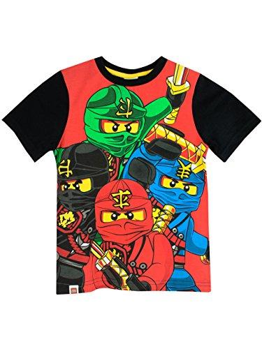 Lego Ninjago - Maglietta a maniche corta Ragazzi - Lego Ninjago - 4 - 5 Anni