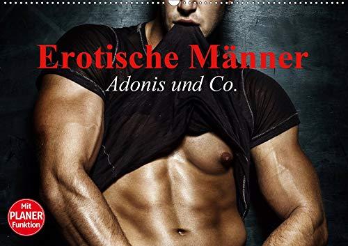 Erotische Männer. Adonis und Co. (Wandkalender 2020 DIN A2 quer): Stilvolle Männererotik und starke Muskeln für aufregende Momente (Geburtstagskalender, 14 Seiten ) (CALVENDO Menschen)
