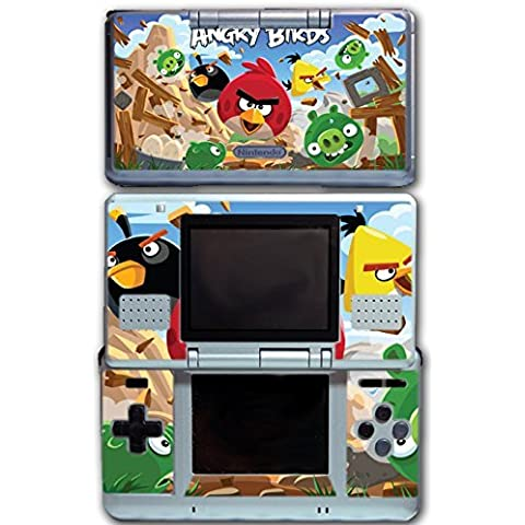 Angry Birds Red Chuck Bomb Pig Video Game Vinyl Decal Skin Sticker Cover for Original Nintendo DS System by Vinyl Skin