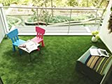 Kuber Industries™Artificial Grass For Balcony Or Doormat, Soft And Durable Plastic Turf Carpet Mat, Artificial Grass(6.5 x 2 Feet)