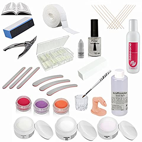 Professional Acrylic Kit incl. Color Powder - Starter Kit