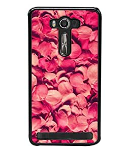 PrintVisa Designer Back Case Cover for Asus Zenfone Selfie ZD551KL (Anniversary Arrangement Background Romancer Decoration Refreshing Beautiful Valentine)
