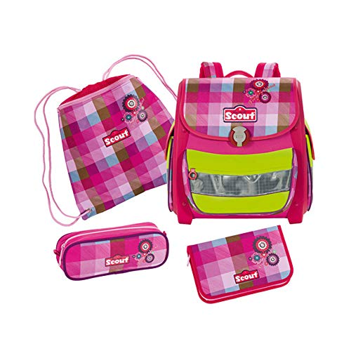 Scout 72400920800 Schule Schulranzen-Set, Pink