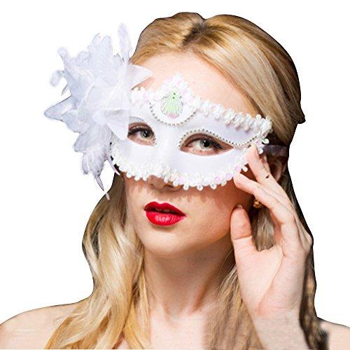 Fellibay Venezianische Masken Masken für Erwachsene Masquerade