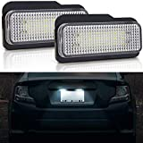 M-E-R-C-E-D-E-S B-E-N-Z Kennzeichenbeleuchtung LED Kennzeichen Licht Auto Nummernschildbeleuchtung Nummernschilder Licht für W203 5D, W211 4D, W211 5D, W203 5D, W219 4D, R171 2D