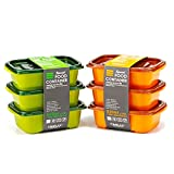 Best Simple Food Storage Containers - CIMELAX Plastic Korea Simple Food Container Set, 520ml Review