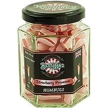 Wendy's Candies - Bonbon Humbugs - Cocktail FRAISE PROSECCO - Confiserie de fabrication artisanale - berlingot revisité - Meilleur Papa - idée cadeau BEST DAD - ref DSSP