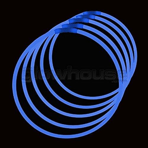 Premium Glühen-halsketten - 50 päckchen Glowhouse Marke - Blau