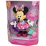 Minnie Mouse - Muñeca parlanchina (Mattel CCV10)