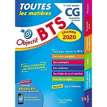 OBJECTIF BTS CG 2020 Toutes les matières