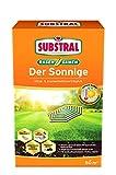 Substral Rasensamen Der Sonnige, Trockenrasen, Hochwertige Rasensamenmischung für sonnige und trockene Standorte, 1,125 kg Faltschachtel -