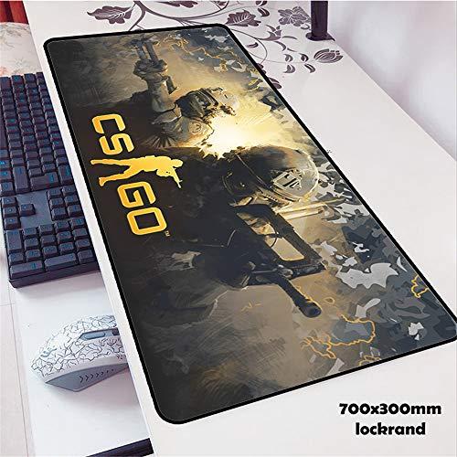 Preisvergleich Produktbild Mauspad hohe Qualle Mauspad Spieler Mauspad Spiel Computer Desktop Mauspad große Tischmatte,  um Spieler zu Spielen 1 600x300x2