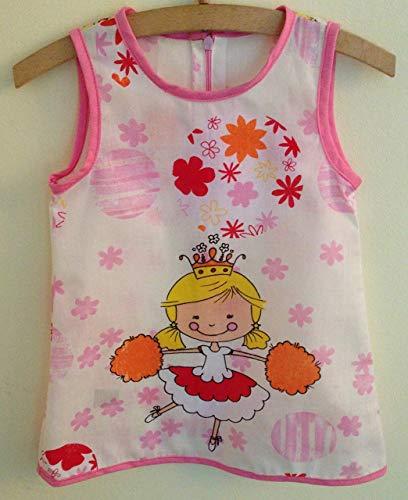 Süßes Kleid Größe 98,Mädchen Kleid, Mode Kinder, Comic, Geschenkidee, Prinzessin -