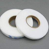 M Fabrics Rivil Civil Fabric Fusing Tape Double Sided Adhesive Hem Tape Iron on Tape (White) Buckram Interfacing…