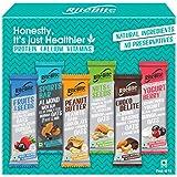 RiteBite Max Protein Assorted Nutrition Bar Pack of 10 (Choco Delite-1, Yogurt Berry-1, Peanut Butter-2, Fruits & Seeds-2, Nu