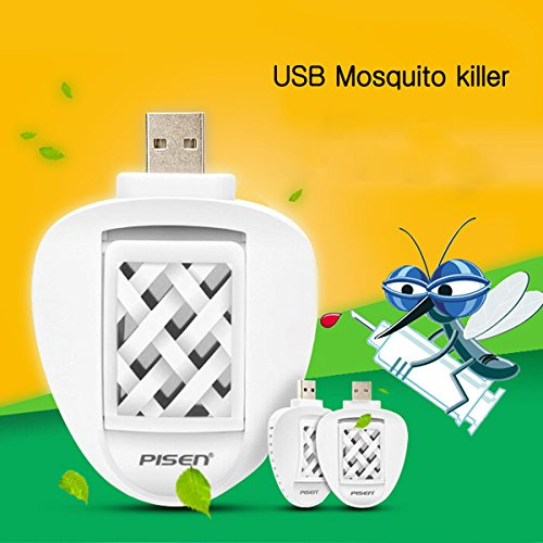 Generic Eco Friendly USB Electric Mosquito Killer Repeller Car Travel Repellent With 2 Mats